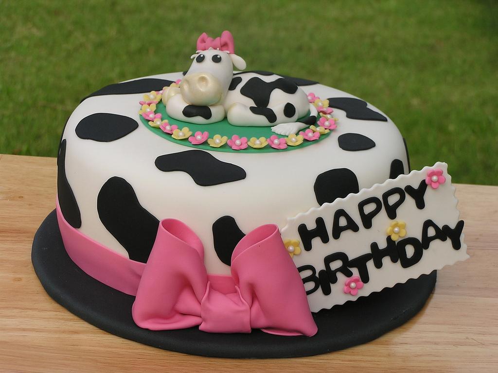 12 Happy 18th Birthday Cakes Cow Photo Cow Birthday Cake Happy
