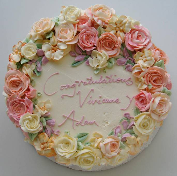 11 Floral Buttercream Cakes Photo Buttercream Flower Cake Cake