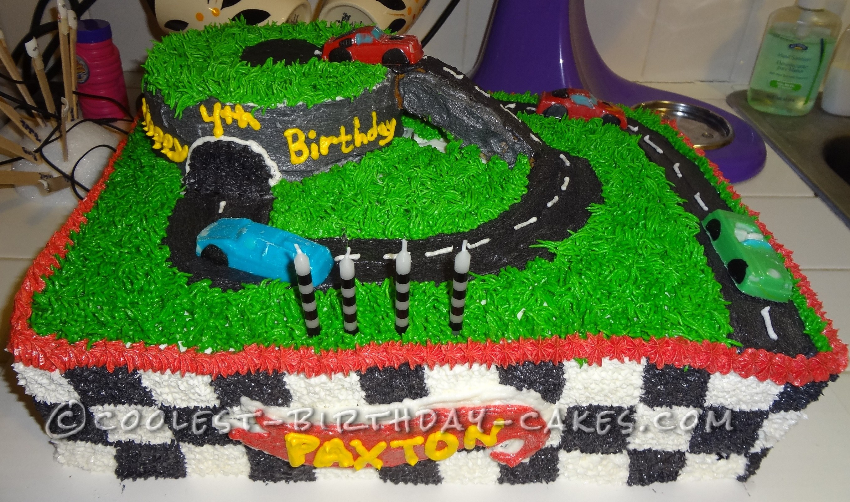 Astounding 12 Homemade Birthday Cakes Hot Wheels Photo Hot Wheels Cake Funny Birthday Cards Online Aboleapandamsfinfo