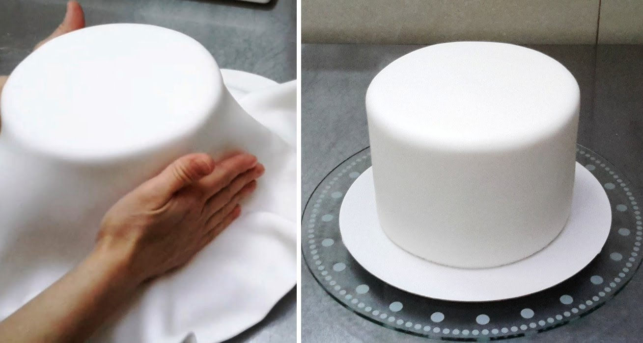 8 8 round cakes covered with fondant photo how to cover a round