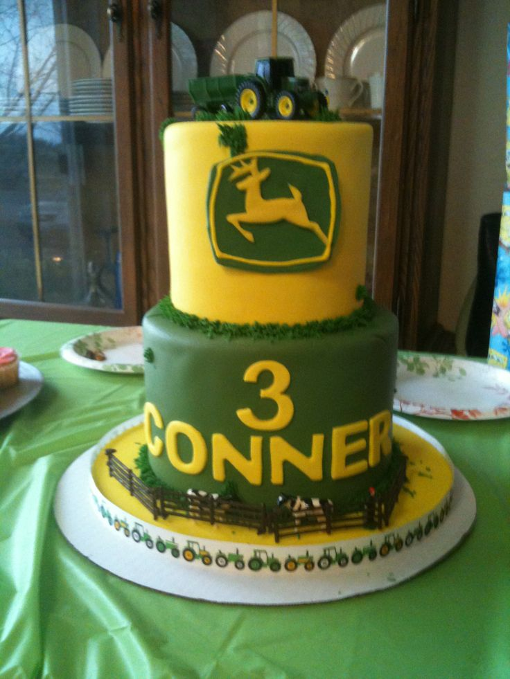 8 Tops Bakery Cakes John Deere Photo - John Deere Wedding Cake ...