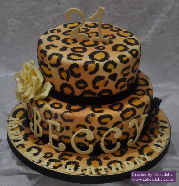 12 Cheetah Cakes For Boys Photo Cheetah Birthday Cake Cheetah