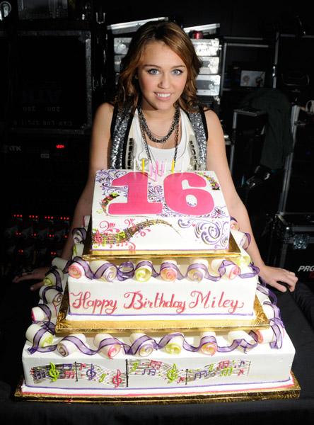 Fabulous 8 Miley Happy Birthday Cakes Photo Miley Cyrus Birthday Cake Funny Birthday Cards Online Alyptdamsfinfo