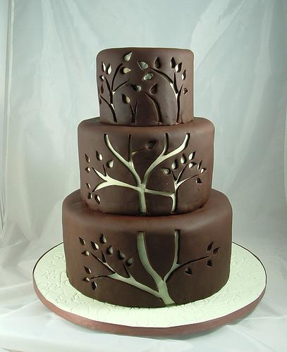 10 Cool Modern Wedding Cakes Photo Modern Chocolate Wedding Cake