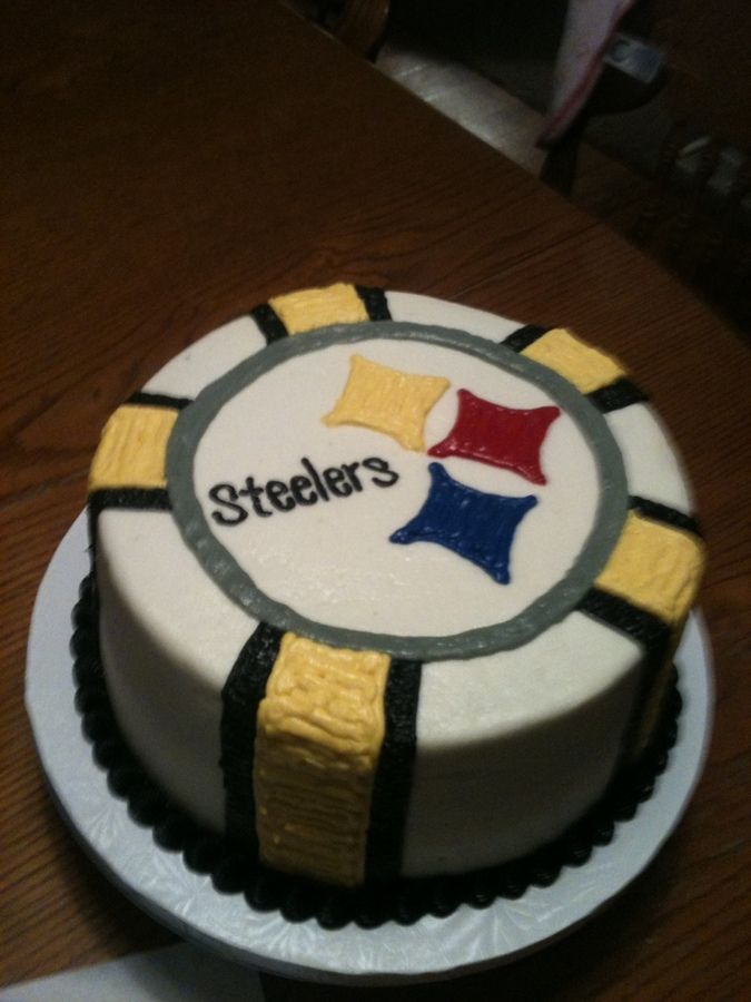 Superb 13 Cakes Jessie For Steelers Football Photo Steelers Football Funny Birthday Cards Online Alyptdamsfinfo