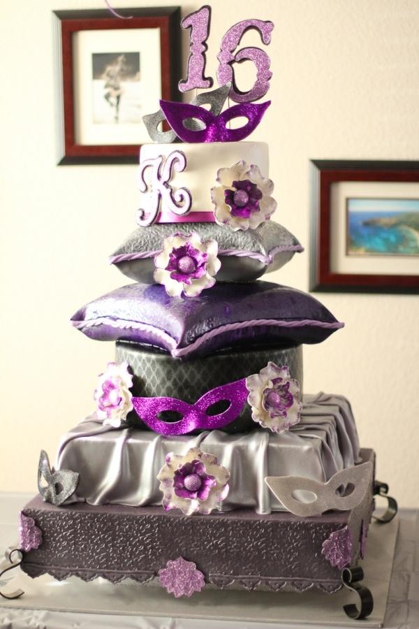 Tremendous 12 Masquerade Sweet 16 Birthday Cakes Photo Sweet 16 Masquerade Funny Birthday Cards Online Alyptdamsfinfo