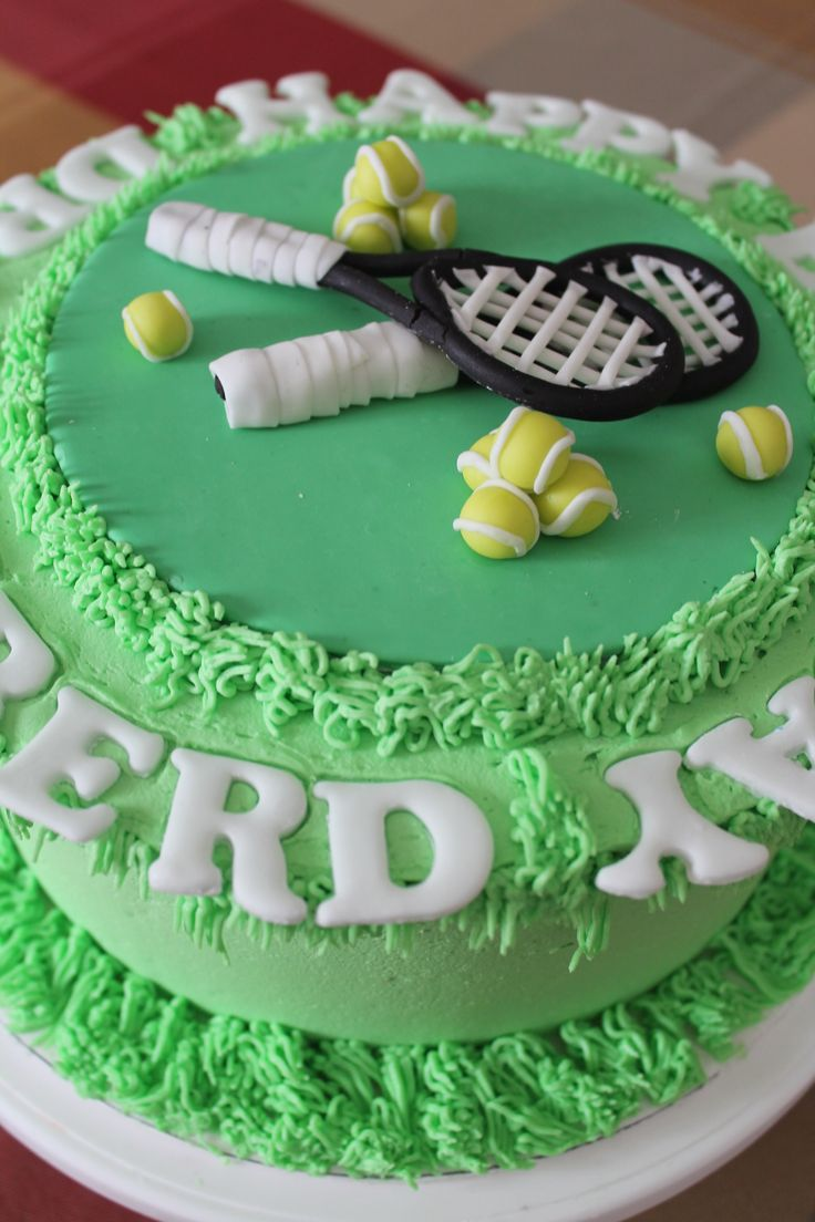12 Tennis Theme Birthday Cakes Photo Tennis Themed Birthday Cake Tennis Cake And Tennis Theme Birthday Cake Snackncake