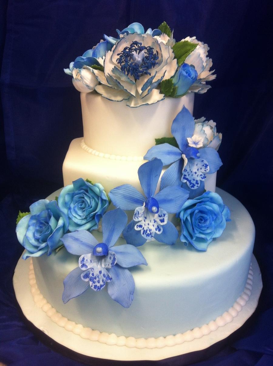 12 Gum Paste Flowers For Wedding Cupcakes Photo Hydrangea Unique Ugly Cake Image Collection Blue Color Ideas