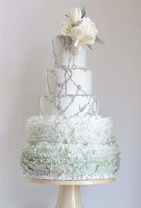 11 Best For Winter Weddings Cakes Photo - Winter Wedding Cake ...