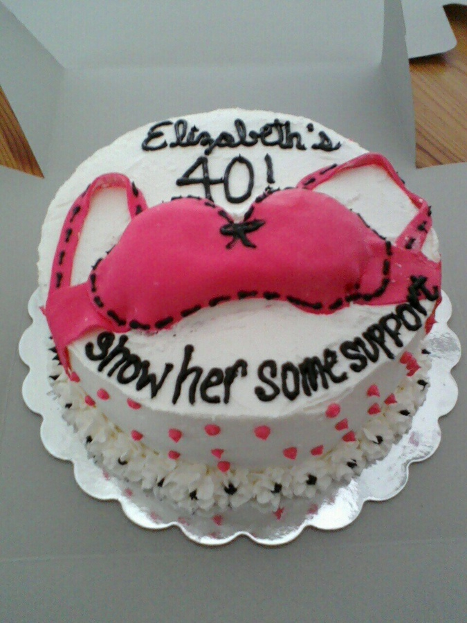 Woman 40th Birthday Cake Ideas