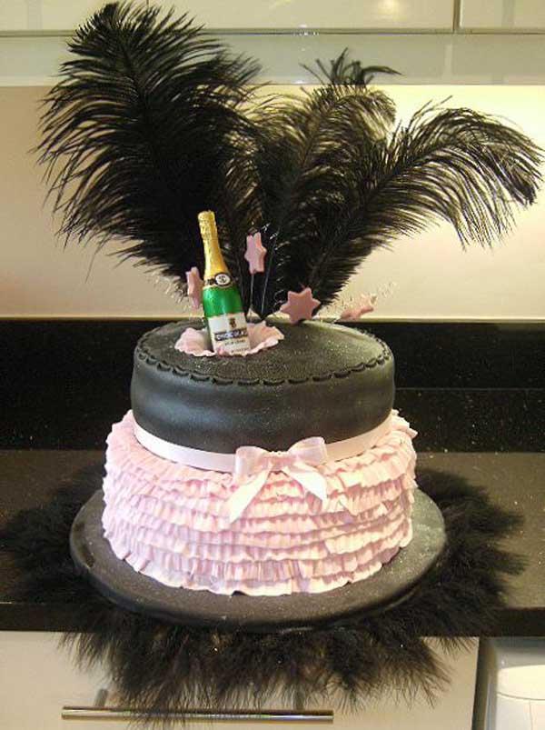 Fabulous 6 Cute Birthday Cakes For Adults Photo Adult Birthday Cake 40Th Funny Birthday Cards Online Benoljebrpdamsfinfo