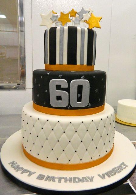 8 60 Years Anniversary Cakes Photo