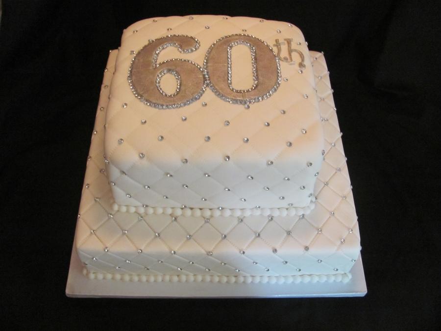 8 60 Years Anniversary Cakes Photo 60th Wedding Anniversary Cake