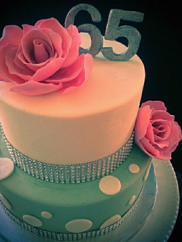 9 65th Birthday Cakes Cute Photo