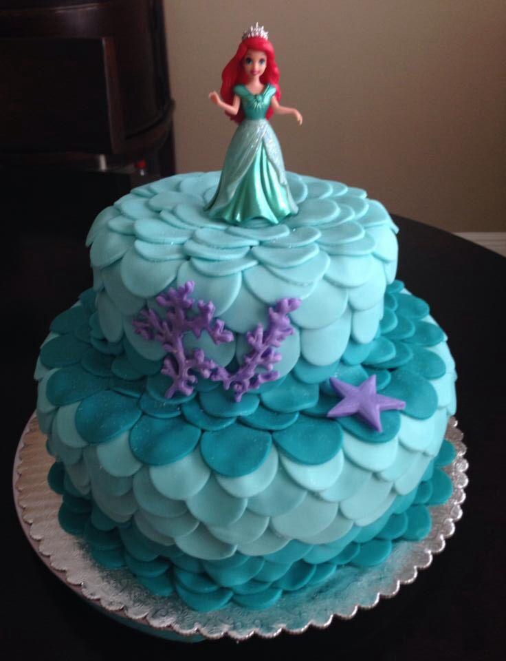 Wondrous 10 Meijer Birthday Cakes Designs Little Mermaid Photo Ariel Funny Birthday Cards Online Elaedamsfinfo