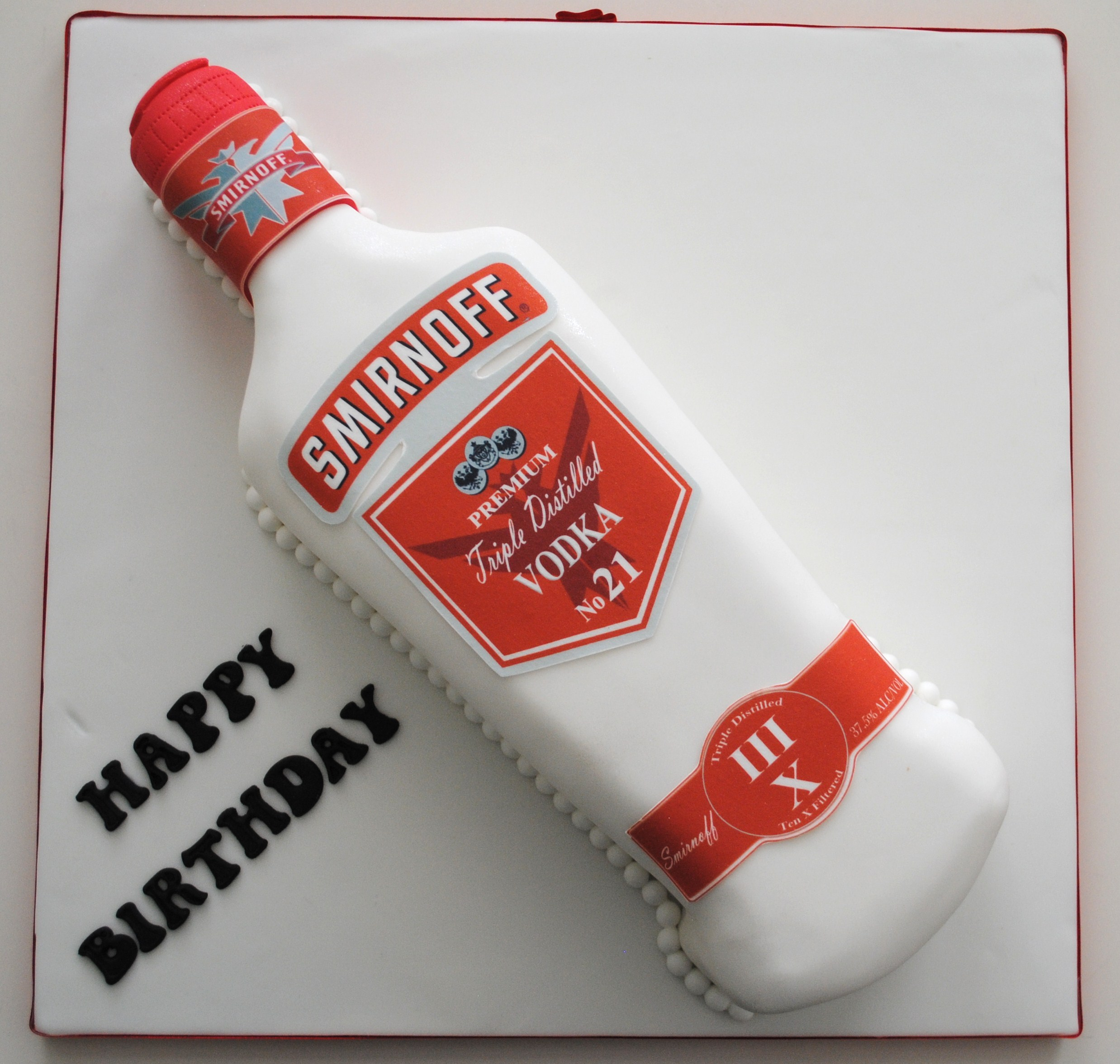 Astonishing 10 Cakes With Vodka Bottles On Top Photo Birthday Cake Vodka Funny Birthday Cards Online Fluifree Goldxyz
