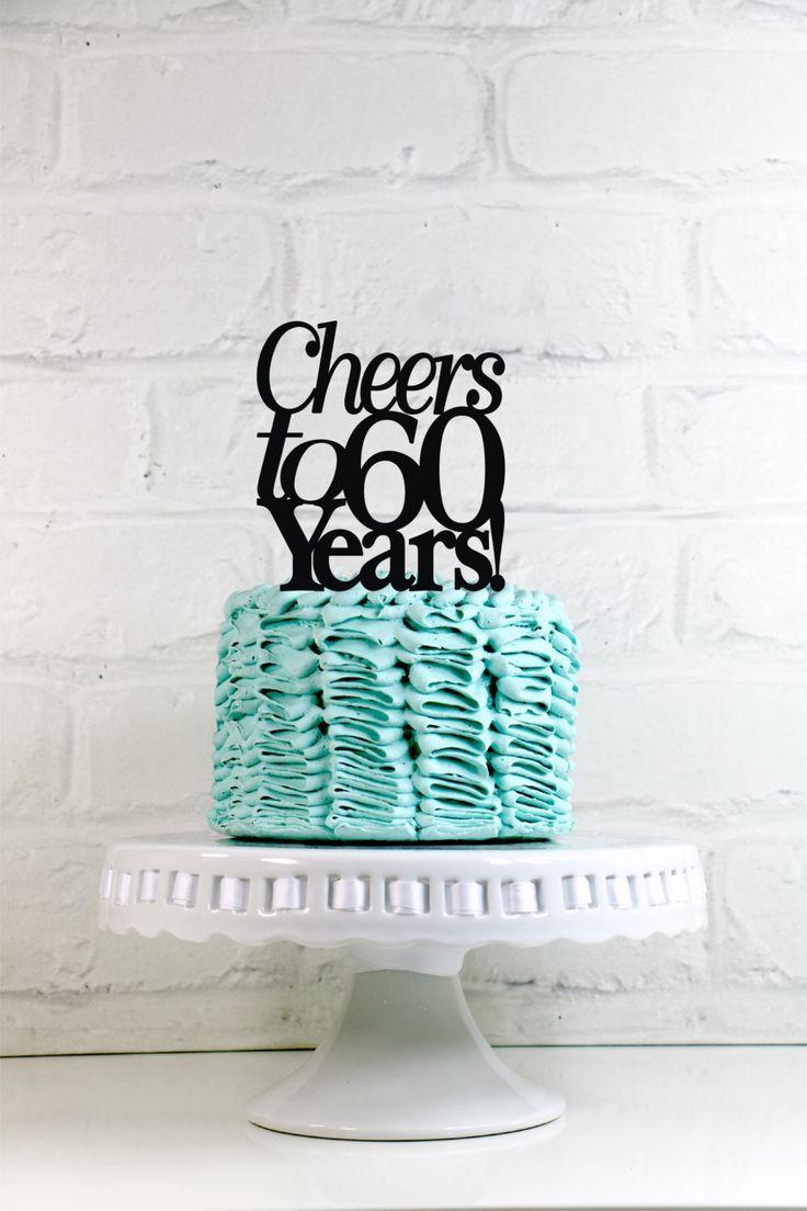8 60 Years Anniversary Cakes Photo 60th Wedding Cake