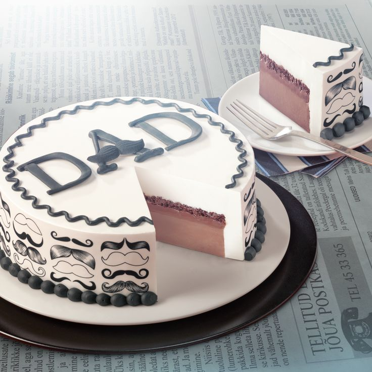 7 Photos of Day Father's Cakes Blizzard Dqspecial
