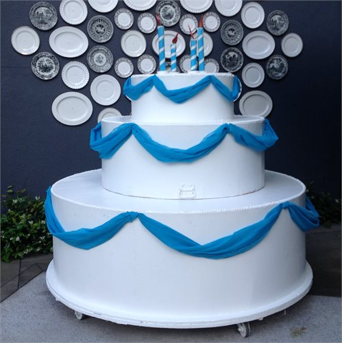 Giant Birthday Cake Props