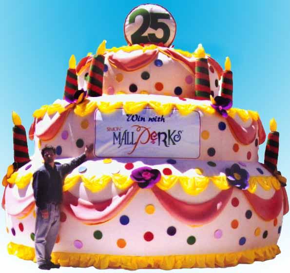 Giant Display Birthday Cake