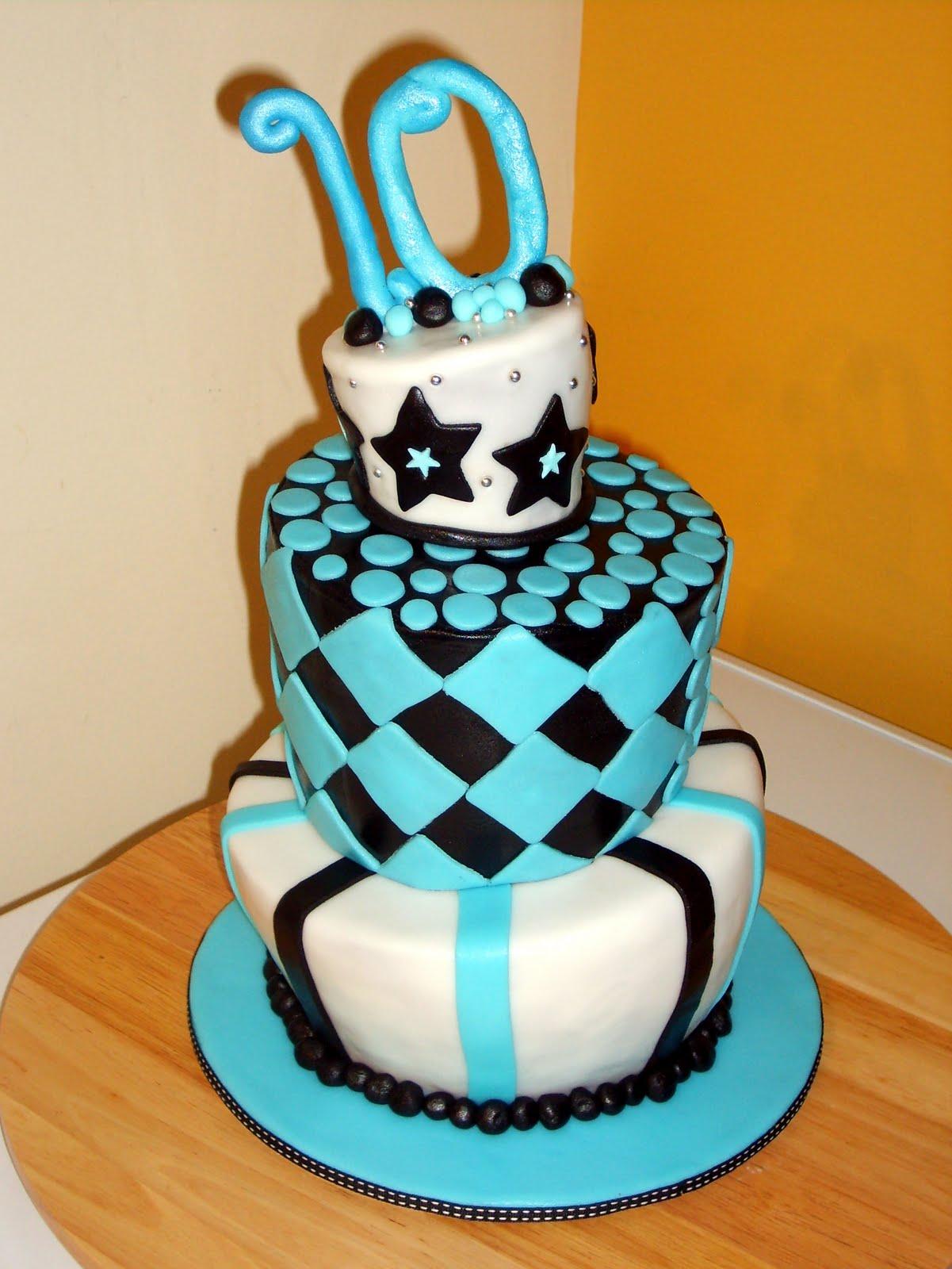 Girls 10th Birthday Cake