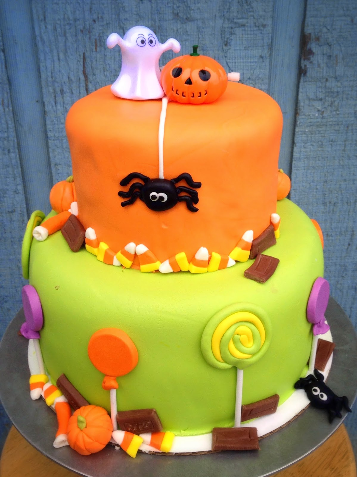 8 10 Halloween Cakes For Boys Photo Halloweenthemed Birthday Cake