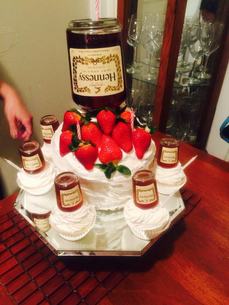 Marvelous 11 Hennessy Birthday Cupcakes Photo Hennessy Chocolate Cupcakes Funny Birthday Cards Online Alyptdamsfinfo