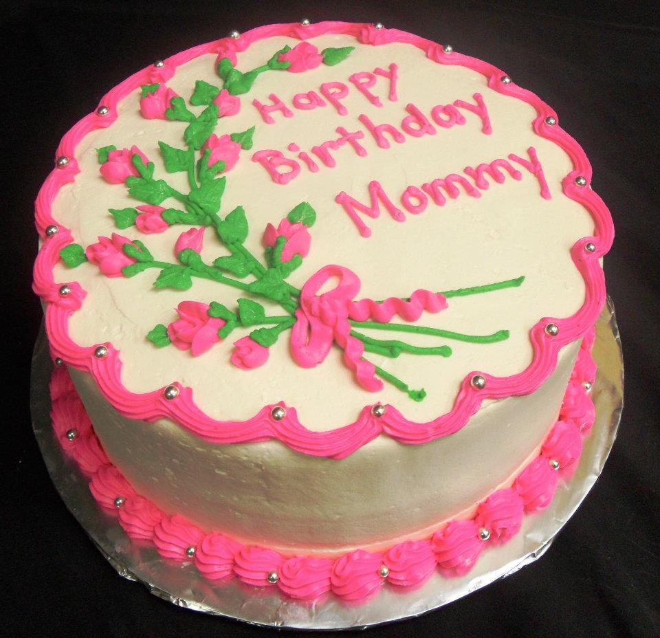 Pleasant 7 Birthday Cakes For Mom Photo Moms Birthday Cake Happy Personalised Birthday Cards Vishlily Jamesorg