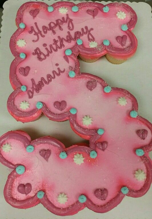 11 Number Cupcake Cakes Photo 4 Cake Shaped