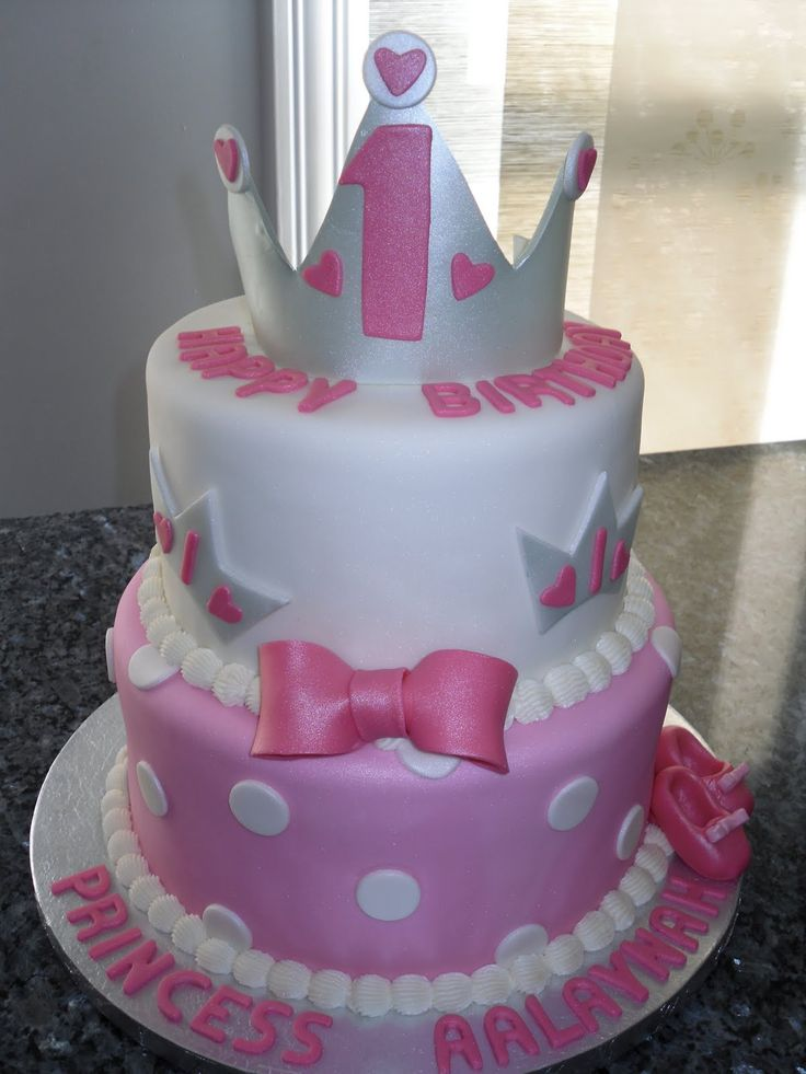 5 Two Year Old Princess Cakes Photo One Year Old Girl Birthday