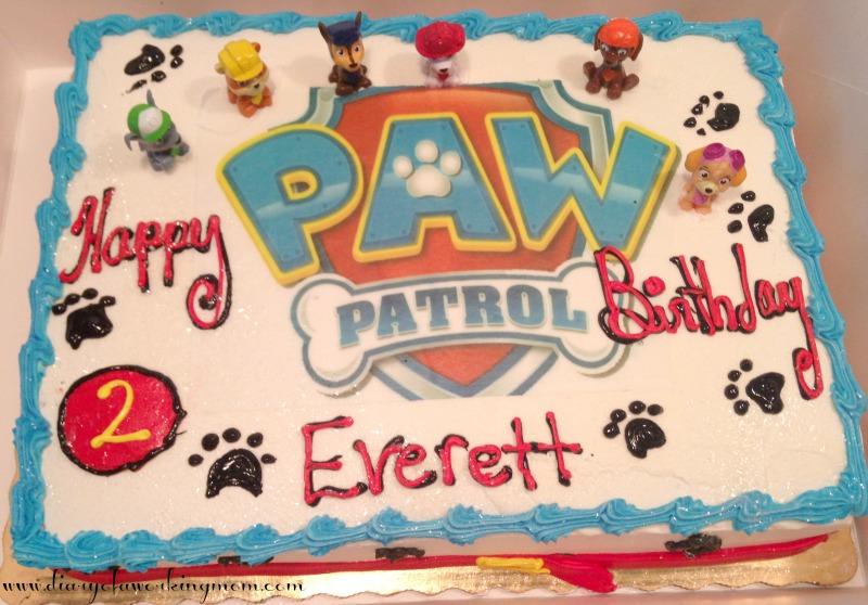 Paw Patrol Sheet Cake Ideas Ibovnathandedecker