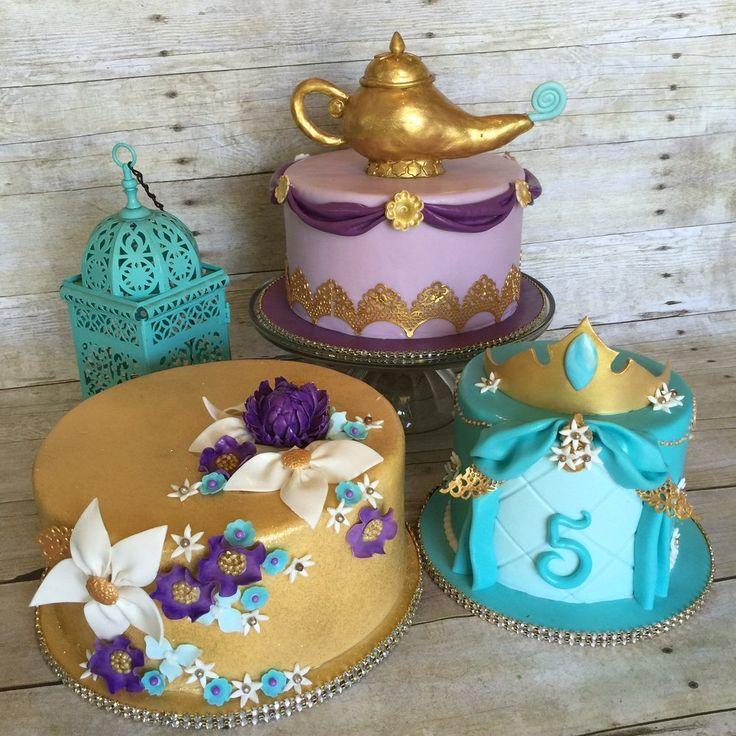 Fine 11 Disney Jasmine Theme Wedding Cakes Photo Princess Jasmine Personalised Birthday Cards Petedlily Jamesorg