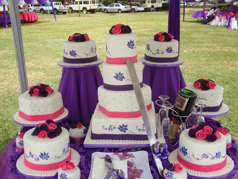 9 kenya themed wedding cakes photo purple themed wedding cake purple themed wedding cake junglespirit Choice Image