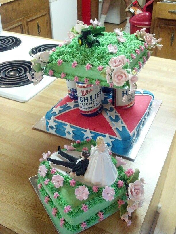 11 Wedding Cakes Redneck Style Photo - Redneck Wedding Cake, Redneck ...