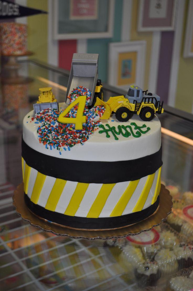 Peachy 11 Diggers And Dump Trucks Birthday Cakes Or Cupcakes Photo Funny Birthday Cards Online Necthendildamsfinfo