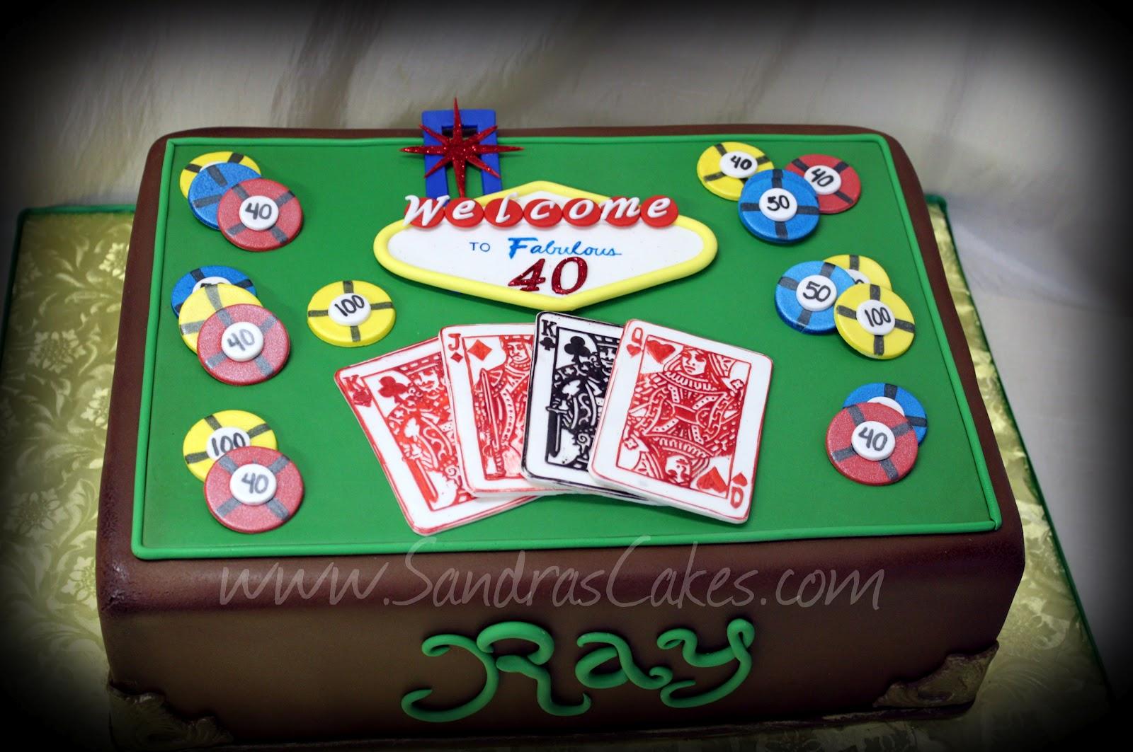 6 Las Vegas Sheet Cakes Photo Vegas Themed Birthday Cake Las
