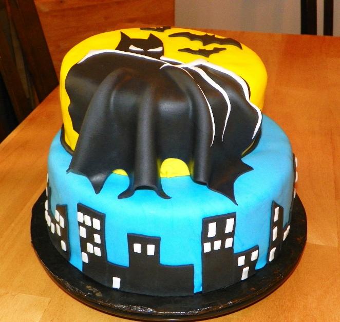 11 Batman Birthday Cakes Bakery Photo Batman Cupcakes Walmart