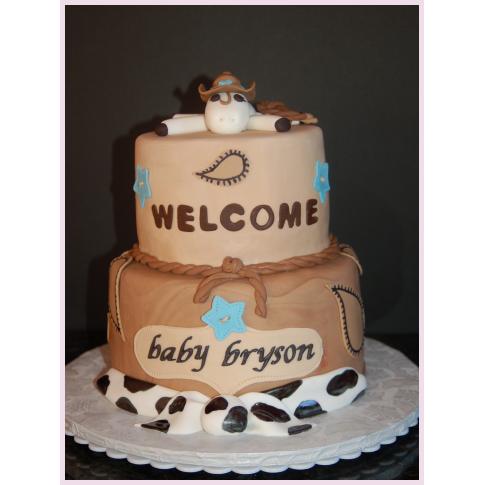 6 Western Baby Shower Sheet Cakes Photo Cowboy Baby Shower Cake