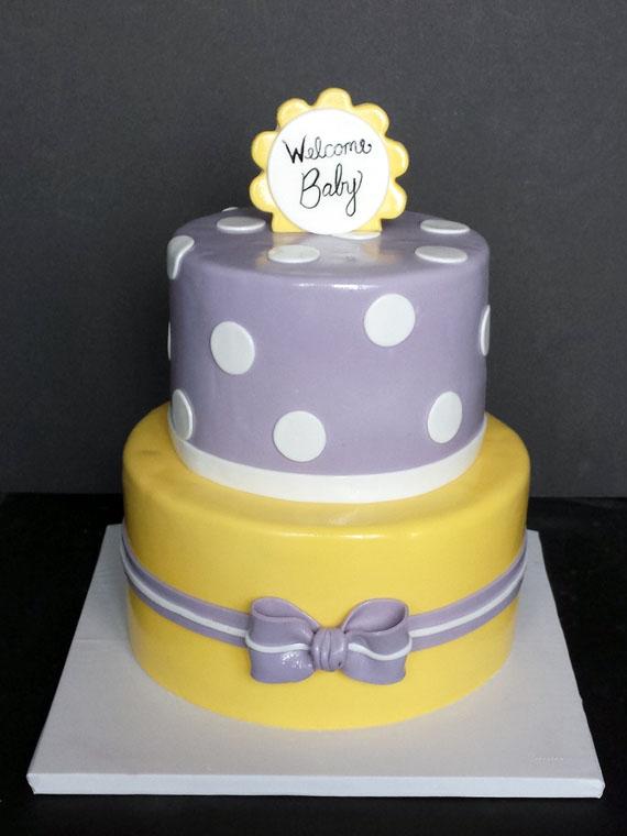 10 Gray Yellow Baby Shower Cupcake Cakes Photo Yellow And Grey