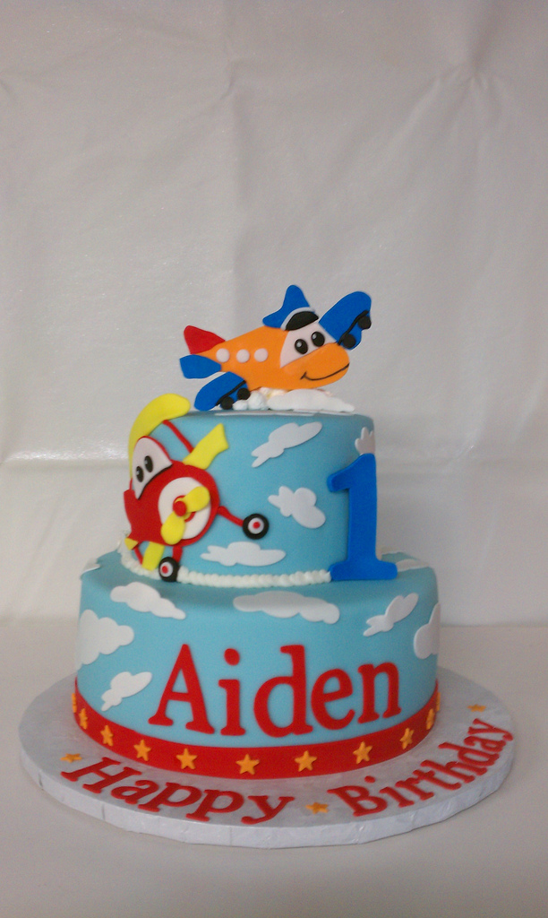 12 Planes Theme Birthday Cakes Photo Airplane Themed Birthday Cake