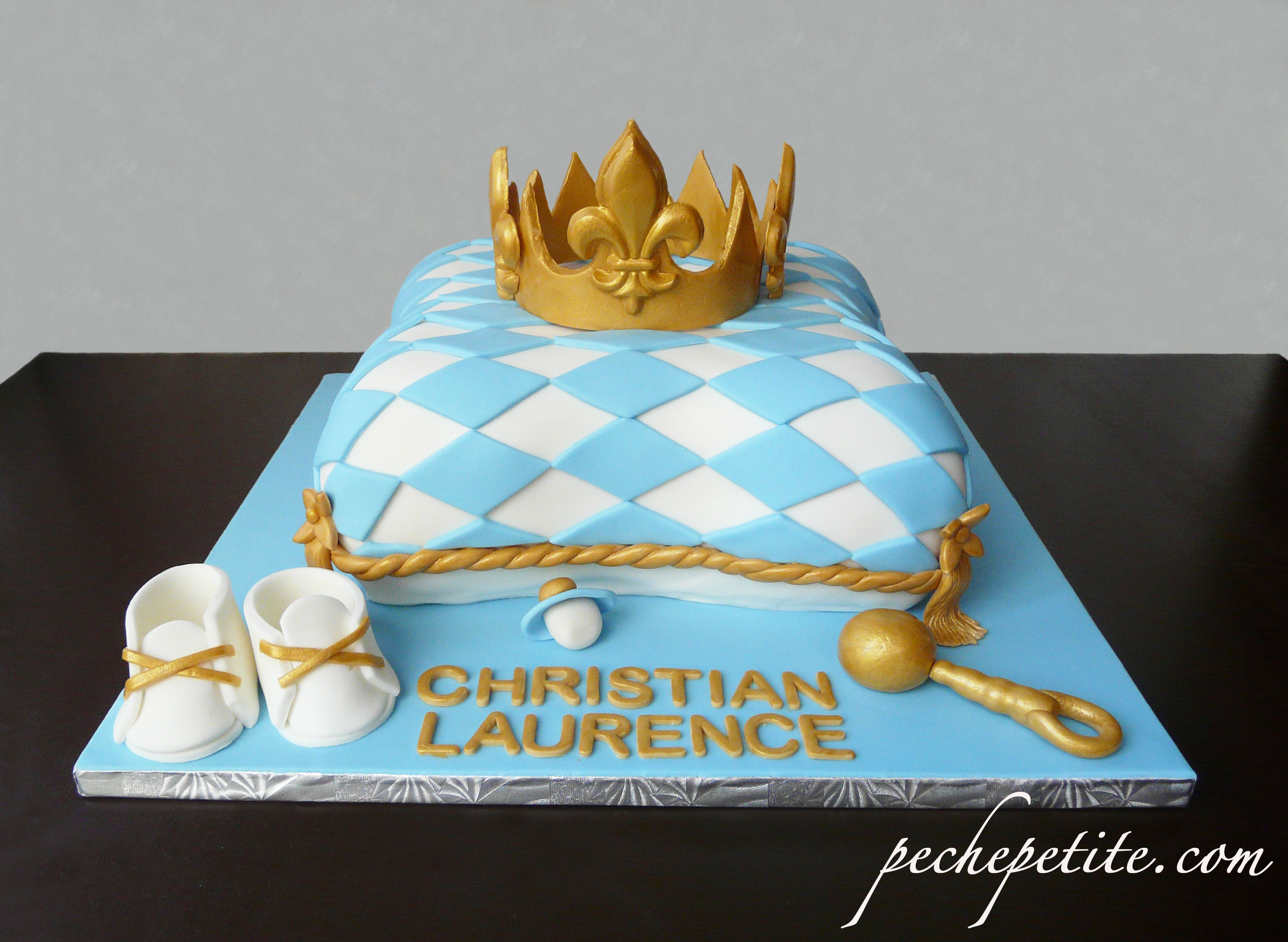 8 Kings Crown Baby Shower Cakes Photo Little Prince Crown Baby