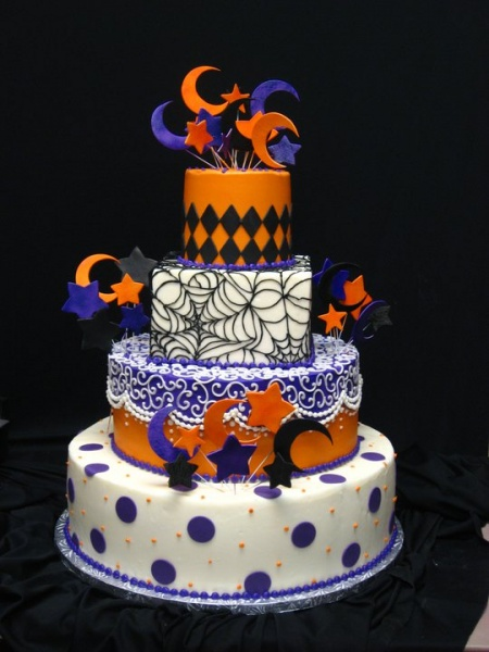 8 Fall And Halloween Themed Cakes Photo - Fall Halloween Birthday ...
