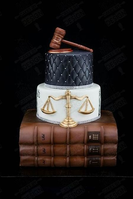 12 Lawyer Themed Cakes Photo