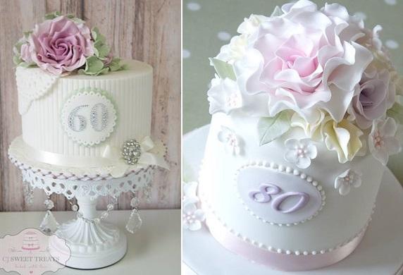 Admirable 12 Pretty 80Th Birthday Cakes Photo Fishbowl Birthday Cake The Funny Birthday Cards Online Fluifree Goldxyz