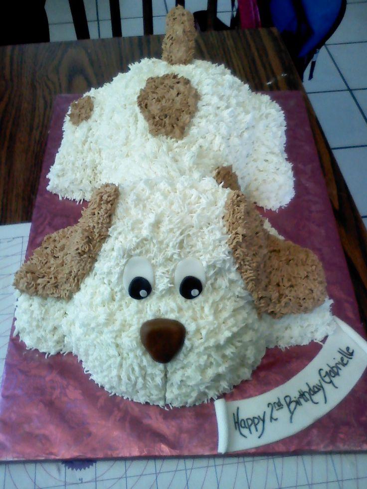 Swell 8 Dog Shaped Birthday Cakes Photo Easy Dog Shaped Birthday Cake Funny Birthday Cards Online Necthendildamsfinfo