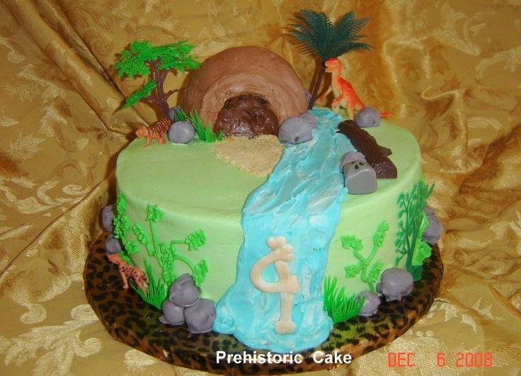 11 Caveman Theme Cakes Photo Caveman Cake Ideas Ice Age Themed