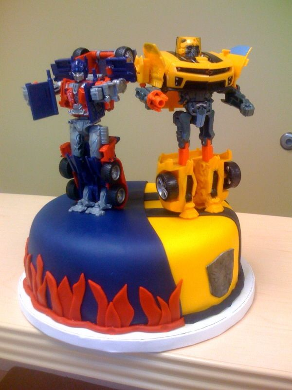 11 Easy Transformer Birthday Cupcakes For Boys Photo