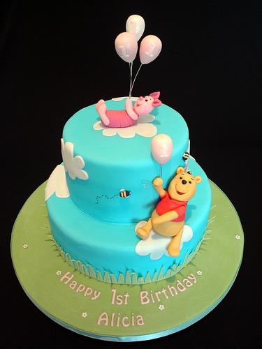 Winnie The Pooh Birthday Cake Ideas