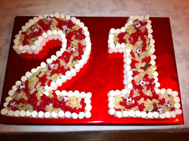 Superb 10 21 Birthday Cakes Sweet Photo 21St Birthday Cake Idea 21St Funny Birthday Cards Online Alyptdamsfinfo