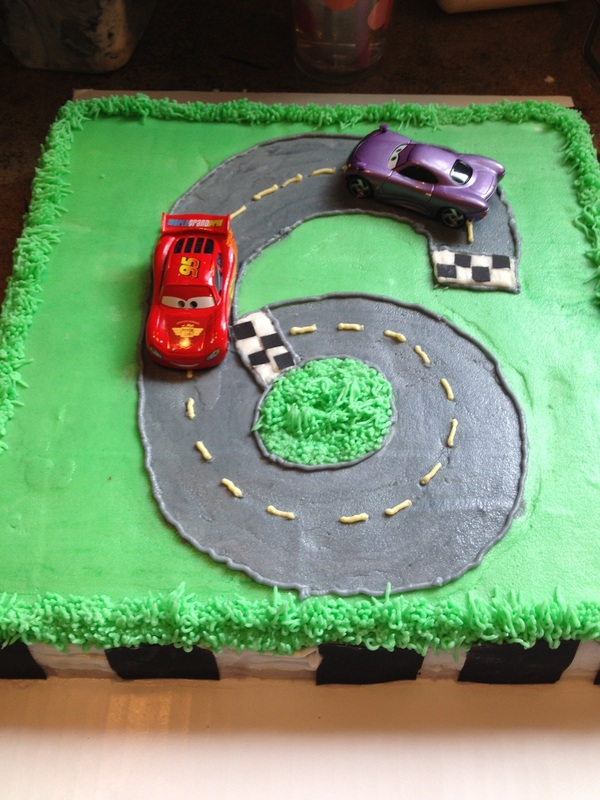 6 Year Old Boy Birthday Cake
